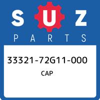 33321-72G11-000 Suzuki Cap 3332172G11000, New Genuine OEM Part