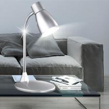 lampe de table type LED Salle à manger éclairage lecture pivotant Flexo gris