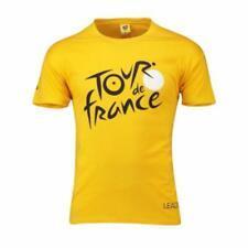 Le Tour De France Men's 2019 Leader T-Shirt - 2XL - Yellow - New