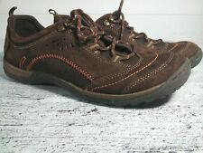Earth Origins by Earth Kamryn Womens 9 1/2 M Brown Suede  Lace Up Sneakers Shoes