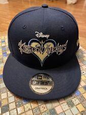 Disney Kingdom Hearts Embroidered 9Fifty Snapback New Era Hat,  Blue, New