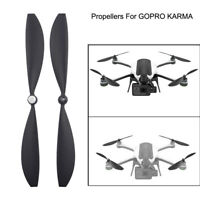 2pcs Drone Propellers Blades Wings Accessories Parts For GoPro Karma Drone Black