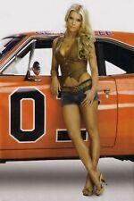 Daisy Duke Rebel 1969 Charger General  Pin up Girl Cave SIGN 4x6 Fridge Magnet N
