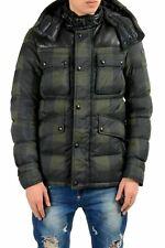 Belstaff Men's Duck Down Full Zip Hooded Parka Jacket US XS IT 46