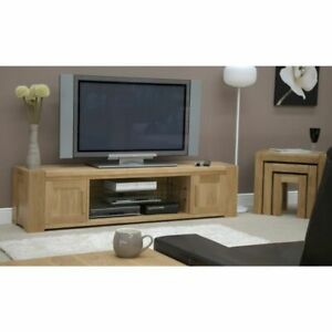 Padova Oak Living Room Furniture Large Television Cabinet Stand Unit