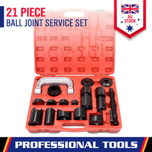 21-Piece Ball Joint Remover Tool Kit Auto Press Repair Install Adapter Set Case