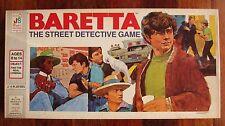 Vintage Baretta The Street Detective Board Game Milton Bradley 1976