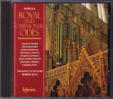 PURCELL Ode for Cecilia's Day Queen Mary Arise, my Muse ROBERT KING'S CONSORT CD