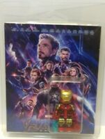 Custom Lego Avengers Endgame Iron Man mini figure with clamshell display box