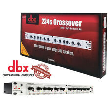 "DBX 234S Crossover Stereo 2/3 Way, Mono 4 Way - 1/4"" TRS Linkwitz-Riley Filters"