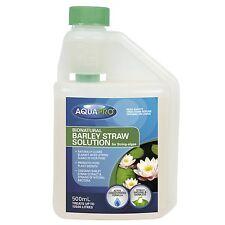 AQUAPRO Bionatural Pond Barley Straw Solution for String Algae Pets Safe 500ml