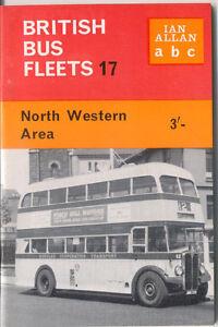 British Bus Fleets No 17 North Western Area Ian Allan abc book 1964