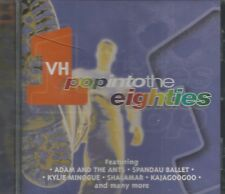 RARE VH1 / MTV CD POP INTO THE EIGHTIES SEALED!! HAIRCUT 100 KYLIE SPANDAU M ++