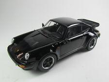 Modell 1:18 Porsche 911 (930) Turbo 3.3 1977 schwarz   Norev 187576 limited 1000
