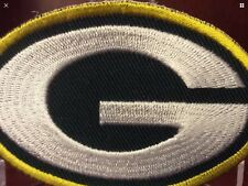ROCKET SHIPPING  On USA QUALITY...GREEN BAY PACKERS LOGO G PATCH,,EASY IRON ON