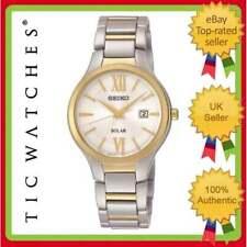 Seiko Solar Analog Casual Wristwatches