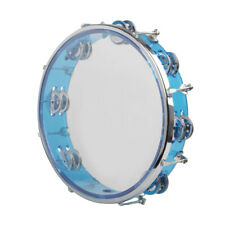 10inch Musical Tambourine Tamborine Drum Hand Percussion Gifts for KTV Party
