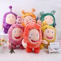 12'' Cuddly Oddbods Stuffed Plush Toy Bubbles Pogo Zee Jeff Fuse Slick Xmas Gift
