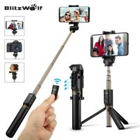 BlitzWolf BW-BS3 3 in 1 bluetooth Remote Extendable Folding Tripod Selfie Stick