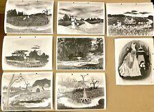 Disney's Song Of The South 20 Artwork Publicity Photos Mary Blair 1946 Very Rare