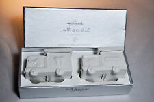 Hallmark: Baby Christening Tooth and Curl Ceramic Truck - Set 2 Piece - New Born