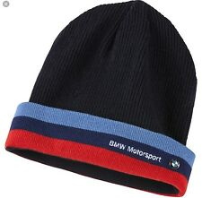PUMA BMW Motorsport Team M Power Series Blue Beanie Winter Ski Hat NEW Cap