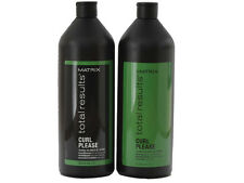 Matrix Total Results Curl Please Shampoo + Conditioner 1L each (33.8 fl oz)