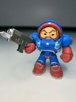 "Funko Mystery Mini Heroes Of The Storm 3"" Figure Jim Raynor Blizzard VGC"