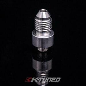 K-Tuned Upper Coolant Housing Overflow Fitting 5/16 Hose End - Old Style