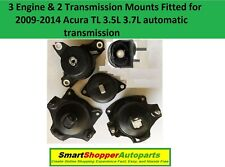 3 Engine & 2 Transmission Mount for 2009 2010 2011 2012 2013 2014 Acura TL A/T