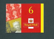 Mb2, 6 X 1st, inset bands left, Queen Victoria Label, Nvi Barcode Booklet