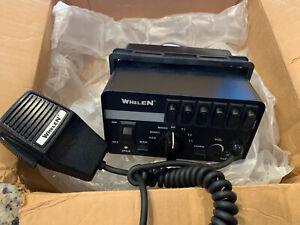 Whelen Epsilon 6 siren and switch box