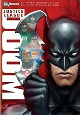 DCU Justice League Doom Special Ed DVD Standard Region 1 Ship