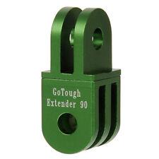GoTough 20mm Green 90° Extender for GoPro 2 Prong Mount - Aluminum 90° Extension