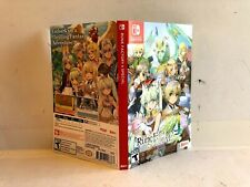 Rune Factory 4 Nintendo Switch ARTWORK ONLY Authentic
