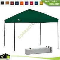 10'x10' Instant CANOPY Gazebo POP UP TENT Outdoor Tailgate Sun Shelter BBQ Party