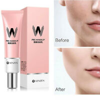 30ml VENZEN W Primer Concealer Shrink Pore Primer Base MakeUp Faces Brighten CA