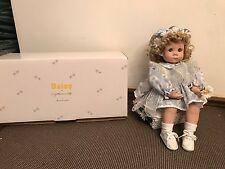 """Danbury Mint """"DAISY"""" Doll by Cindy Marshner Rolfe~ w/Original Box"""