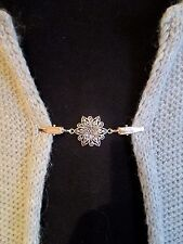 Cardigan, Sweater, Blouse, Shrug Clips/Clasps (flower)
