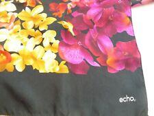 """Echo Long Floral Silk Scarf  9""""x58"""""""