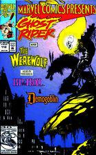 Marvel Comics Presents #112 Wolverine Ghost Rider the Werewolf by Night Thanos