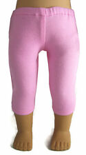 """Made in USA Pink Capri Leggings for 18"""" American Girl Doll Clothes Accessories"""