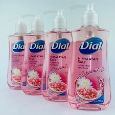 4-Pack Dial Himalayan Salt Hydrating Hand Soap Wash 7.5 Fl.oz Each Bottle New