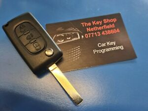 Peugeot Citroën Flip Key Cut And Programmed To Your Car Van Nottm NG4 2HG