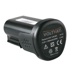 Batteria 10,8V 2000mAh li-ion per Bosch 2607336909,2607337215,PBA 10.8 V