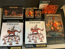 New Fyreslayers Army ~ Warscrolls Battletome Start Collecting Warhammer Rule Set