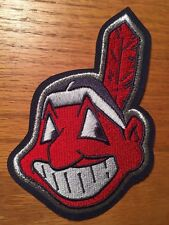 """Cleveland  Indians MLB Baseball 4.75"""" tall jersey sleeve patch"""