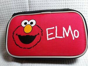 Sesame Street Elmo Storage Carry Case Nintendo DS Lite DSi 3DS XL
