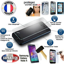 Protection d'Ecran en Verre Trempé Contre les Chocs pour Samsung Galaxy Note 4