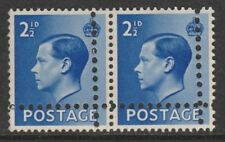 Gb 7666 - 1936 Ke8 2.5d with Double Perfs Variety (Forgery) u/m pair